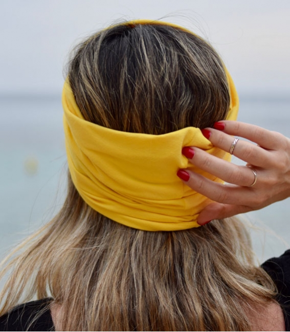 Tropical fitness headband