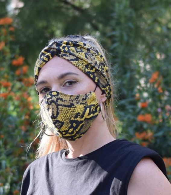 Wide headbands for women, tube scarf bandana